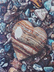 Obrazy - Kamenné srdce - 9569363_