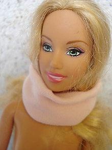 Hračky - Barbie - ružový nákrčník, šál - 9568343_