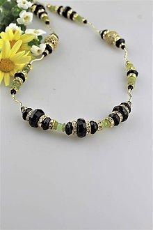 Náhrdelníky - turmalín náhrdelník luxusný - dlhý 87cm - 9568207_