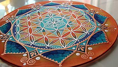 Dekorácie - Kvet života pre radosť a harmóniu - 9569322_
