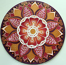 Dekorácie - Mandala...krása ženy - 9569352_