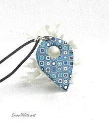 Náhrdelníky - Klimtová slza - 9569708_