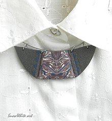 Náhrdelníky - Náhrdelník s ornamentom - 9569845_