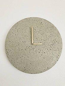 Hodiny - Betónové hodiny - PURE 40 (1) - 9568212_