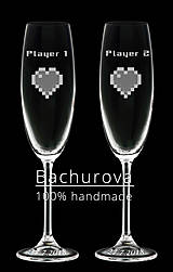 - svadobné poháre na zákazku pre_  Petra122 - 9568600_