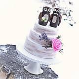 Svadobné sovy  - figúrky na svadobnú tortu