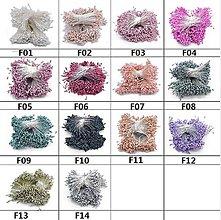 Polotovary - Mini piestiky, priemer 1,5 mm (10 kusov) - 9570042_