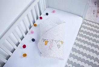 Textil - Zavinovačka pre dievčatko - 9568523_