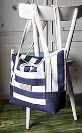 Veľké tašky -  Taška Navy - 9568295_