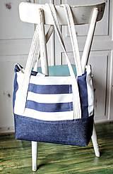 Veľké tašky -  Taška Navy - 9568296_