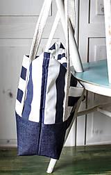 Veľké tašky -  Taška Navy - 9568297_