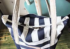 Veľké tašky -  Taška Navy - 9568298_
