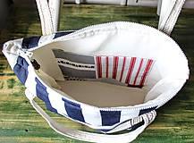Veľké tašky -  Taška Navy - 9568299_