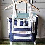 Veľké tašky - Taška Navy - 9568316_