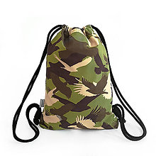 Batohy - Softshellový ruksak MILITARY BIRD - 9568797_