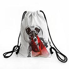 Batohy - Softshellový ruksak LAJKA Z GURUNU - 9569073_