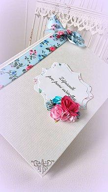 Papiernictvo - Zápisník pre pani učiteľku - 9568398_