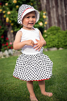Detské oblečenie - Detská sukňa Bodka - 9568092_