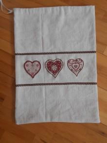 Úžitkový textil - Veľké vrecko na chlieb