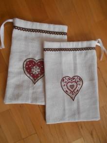 Úžitkový textil - Vrecúško na hríby, sušené ovocie - 9569719_