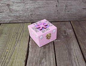 Detské doplnky - krabička na prve zubky - 9572737_