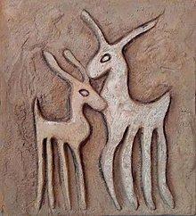 Obrazy - Dva jelenčeky - 9573925_