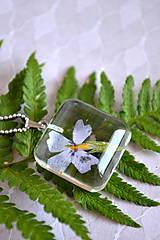 - Náhrdelník Fialový kvet (2446 A CHO) - 9573490_
