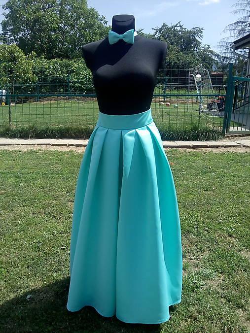 c78cdb8600f7 Maxi sukňa - menthol   jjduda - SAShE.sk - Handmade Sukne