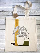 Nákupné tašky - Ručne maľovaná taška Dracea - 9573449_