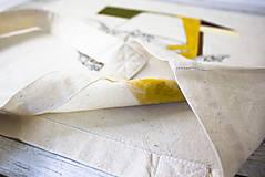 Nákupné tašky - Ručne maľovaná taška Dracea - 9573451_