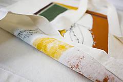 Nákupné tašky - Ručne maľovaná taška Kaktus - 9573454_