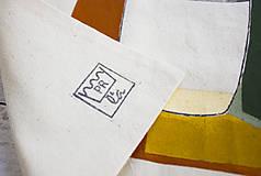 Nákupné tašky - Ručne maľovaná taška Kaktus - 9573455_