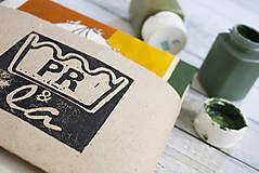 Nákupné tašky - Ručne maľovaná taška Kaktus - 9573456_