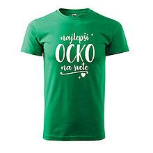 Oblečenie - Najlepší ocko na svete - pánske tričko pre otca - 9573095_