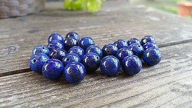 Minerály - Lapis lazuli 10mm - 9572699_