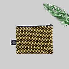 Peňaženky - Peňaženka na zips brokátová šesťuholník  VINITHA 42 - 9574040_