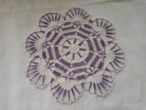 Úžitkový textil - Háčkovaná čipka - 9572465_