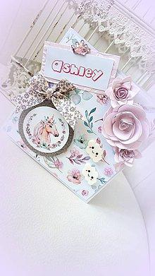 Papiernictvo - Jednorožec pre princeznú - 9571554_
