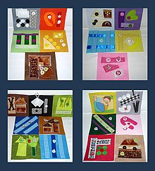 Hračky - Leporelá pre najmenších - 9573780_