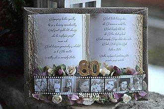 """Papiernictvo - Gratulačná kniha """"Úlomky spomienok"""" - 9571882_"""