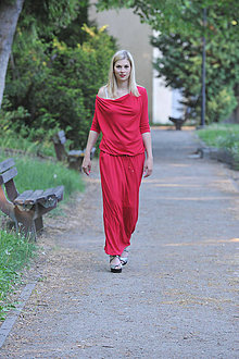 Šaty - Šaty Boho - červené - 9571741  28103ea0ea2