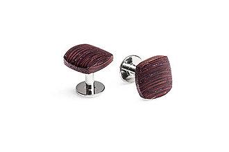 Šperky - Drevené manžetové gombíky Nuptis Cuff - 9574339_