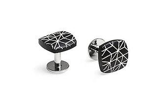 Šperky - Drevené manžetové gombíky Cassio Cuff - 9574344_
