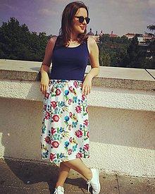 Sukne - Folklórna sukňa I. - 9575733_