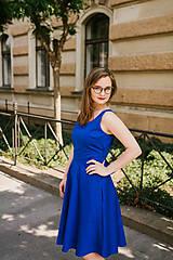 Šaty - Šaty ANNA královsky modré - 9576318_