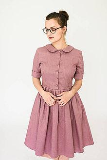 Šaty - Šaty THEA lněné (různé barvy) - 9576359_