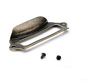 - Retro úchytka s menovkou - 3 veľkosti (veľkosť S) - 9576218_