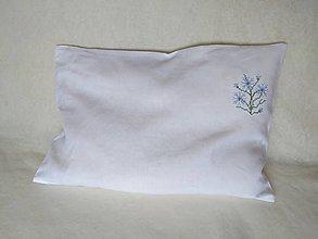 Úžitkový textil - Ľanová návlečka - 9575001_