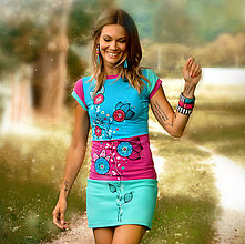 Šaty - Šaty Icecreame - 9574345_