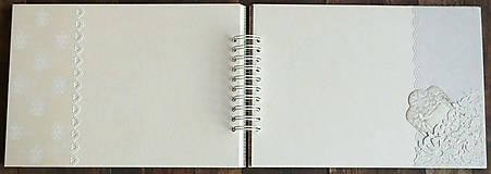 Papiernictvo - Svadobný album,album na fotky /limitovaná edícia - 9575285_